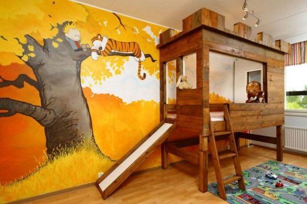 Дитяча кімната - це окремий світ, у якому відбуваються неймовірні події, там живуть казкові герої, які