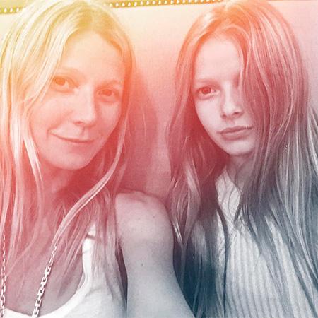 Гвінет Пелтроу показала підрослу доньку (Фото)