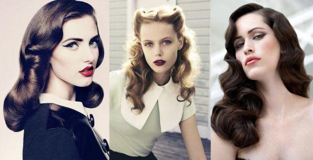 Зробити зачіску у стилі 20-х - 50-х років в домашніх умовах.