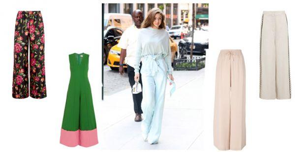 Штани, які були популярні в 50-60-х роках знову стали натхненням для дизайнерів у 2018.