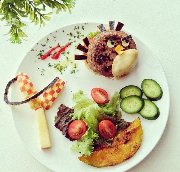 Ніщо так не радує око, як смачна та красиво оформлена їжа.А якщо з такої розпочинати свій день, можна й весь час бути в піднесеному настрої. Тому