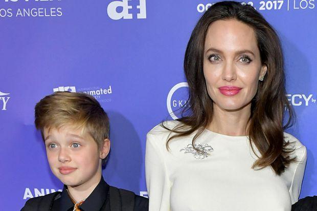 Донька Анджеліни Джолі змінила ім'я на хлопчаче