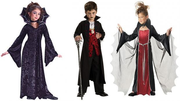 Найпопулярніші образи на Хеллоуін для дітей.