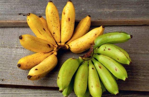 Банани корисні за рахунок високого вмісту калію і ряду інших речовин. Однак, експерти радять при виборі бананів дивитися на їх колір.