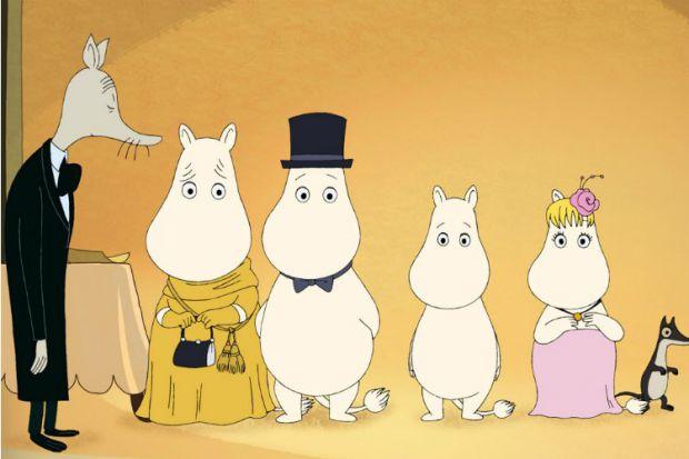 У центрі історій - Мумі-троль і його сім'я. Це уважна і чуйна Мумі-мама, яка може вирішити будь-яку проблему, Мумі-тато - справжня голова сімейства, т