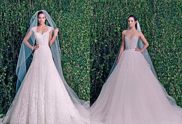 Zuhair Murad вже випустили весільну колекцію неймовірно красивих суконь для наречених на весну-літо 2015 року.Варто зауважити, що в колекції переважає