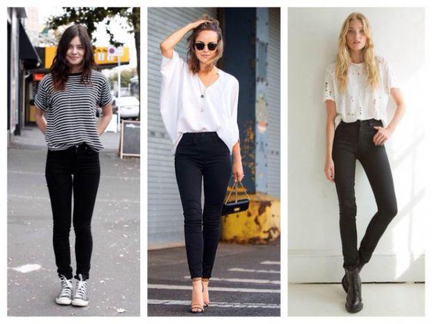 Такий вид джинсів, як скінни, поступово втрачають популярність. Тепер на піку моди безформні штани, але все ж таки скінни, ще актуальні, чим саме - чи