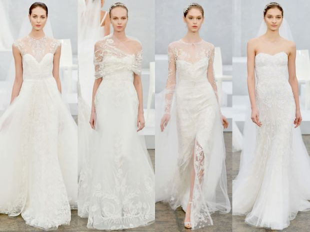 Весільні сукніЦя весільна колекція, за словами автора, - результат натхнення коштовним камінням.