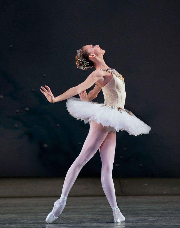 Меню, як харчуються балерини і виглядають привабливо.