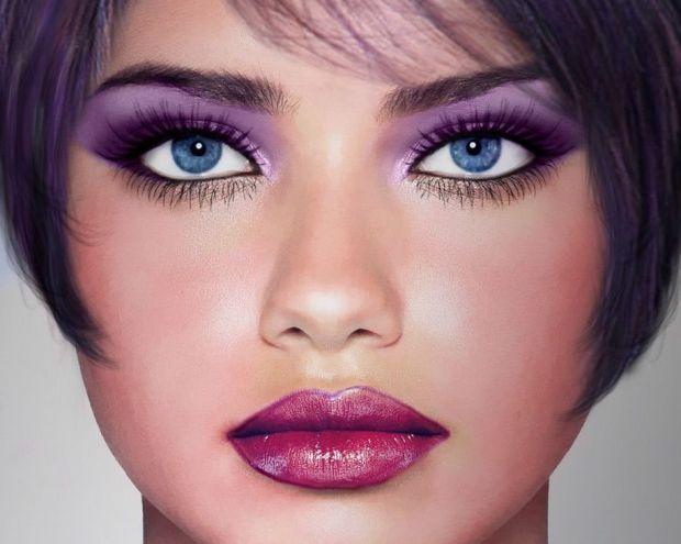 Вчені з Шотландії з'ясували, що жінки з яскравим макіяжем створюють враження легковажних осіб.