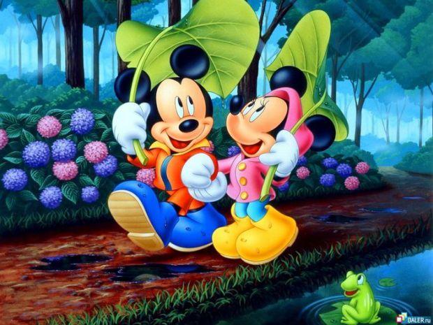 Найперші пригоди Міккі та його друзів.