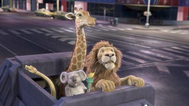Левеня Райана розлучили з його батьком і з нью-йоркського зоопарку відправили на кораблі в Африку. Його друзі по звіринцю - коала, крокодил, хамелеон,