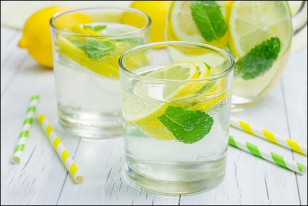 Користь для організму води з лимоном.
