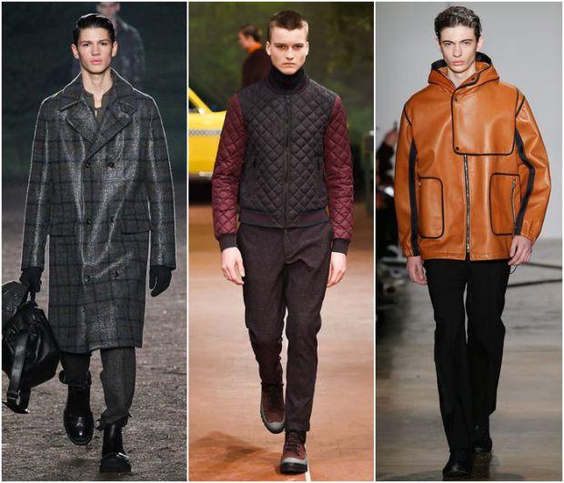Осінні чоловічі куртки і пальта збережуть тепло