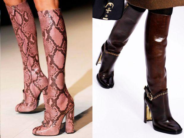 Які чобітки і черевички модні у цьому сезоні - дивіться у матеріалі.