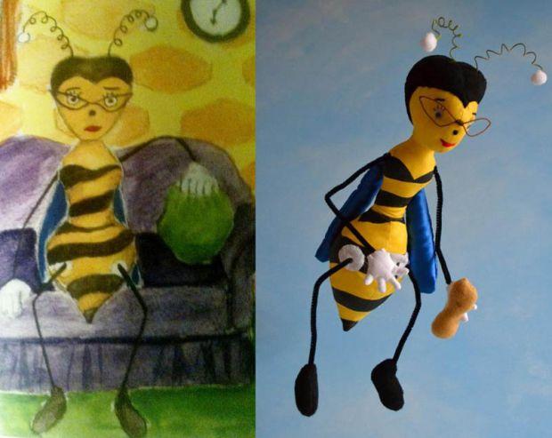 Все почалося з ідеї зробити м'яку іграшку для 4-річного сина за його власними малюнками. Відтоді мама цього малюка перетворила цю ідею в домашній бізн