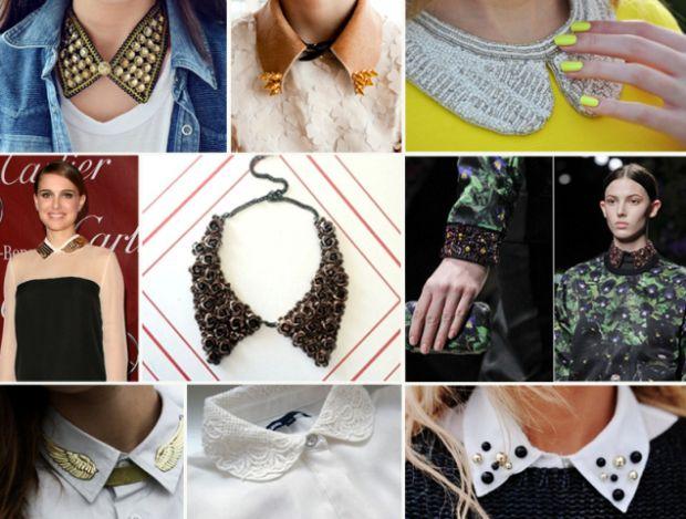 Білі комірці, які підкорили світ моди в цьому сезоні, з чим їх носити?