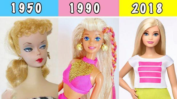Лялька Барбі - найбажаніший подарунок для дівчаток у всьому світі. Однак з моменту появи вона сильно змінилася, і обумовлено це було зміни світу.
