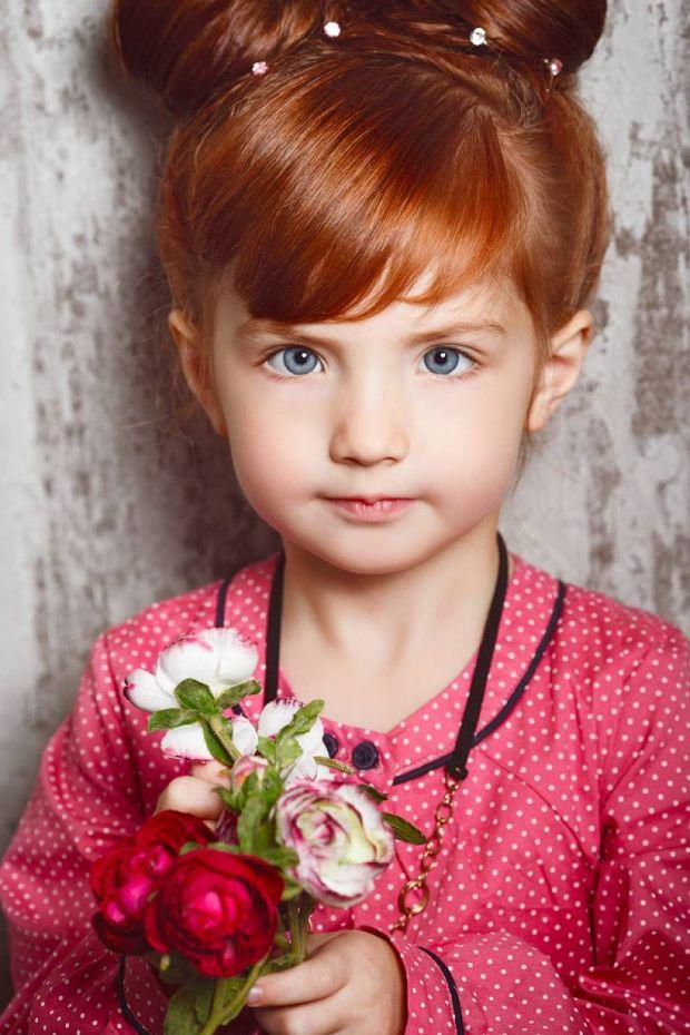 Найстильніші фото зачісок для маленьких модниць