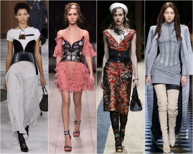 Носити корсет поверх одягу в повсякденному житті здається екстремальною ідеєю, але насправді, зараз, це тренд.