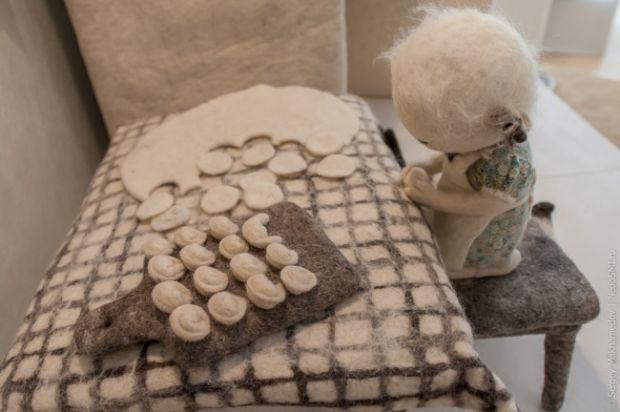 Чарівні ляльки з повсті від Ірини Андрєєвої - це не іграшки, не сувеніри і навіть не предмети оформлення інтер'єру. Художниця Ірина Андрєєва називає ї