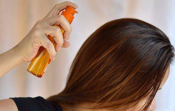 Спрей для волос своими руками для сухих волос