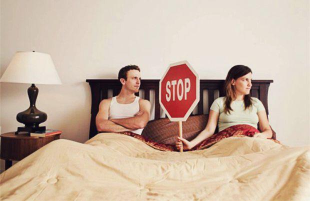 У деяких ситуаціях потрібно відмовитися від сексу на деякий час, щоб не зашкодити здоров'ю.