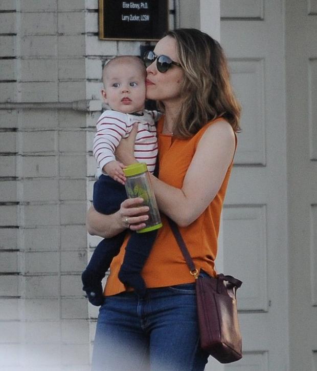 Рейчел МакАдамс вперше показала сина (Фото)