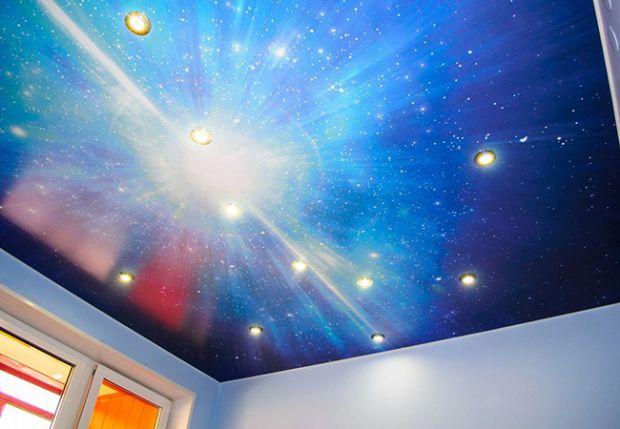 Вы решили сделать ремонт в квартире и захотели чего-то необычного, и подумали о натяжном потолке - это отличный вариант!