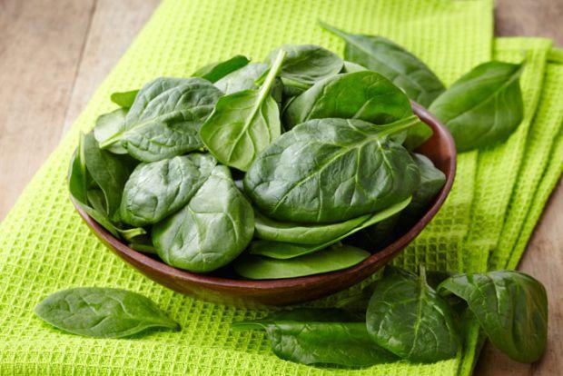 Переваги і недоліки зелені - шпинат.