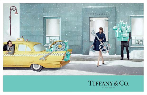 Tim GuttФешн-фотограф Тім Гут створив фотосесію для рекламної кампанії різдвяної колекції Tiffany & Co.