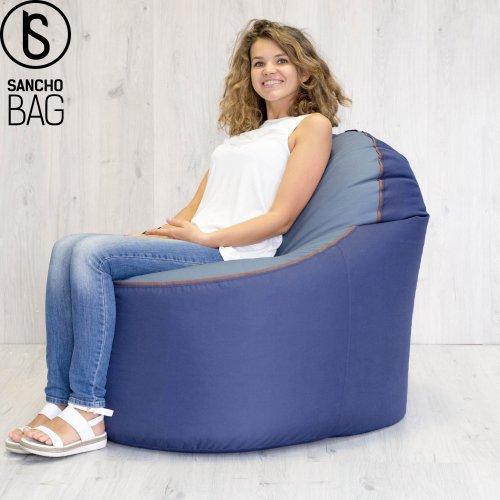 Крісло-мішок – являє собою герметичний мішок. Один із видів м'яких меблів. Таке крісло набуло популярності декілька років тому. Надзвичайно зручна та
