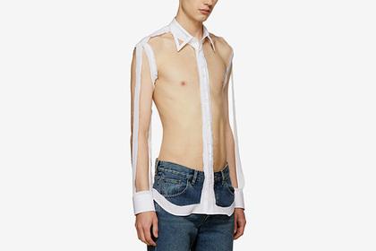Maison Margiela, французький модний бренд, представив публіці нову модель сорочки для чоловіків.