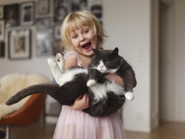 Ви не догледіли, дитина досліджує дім, а тут ще й кіт...