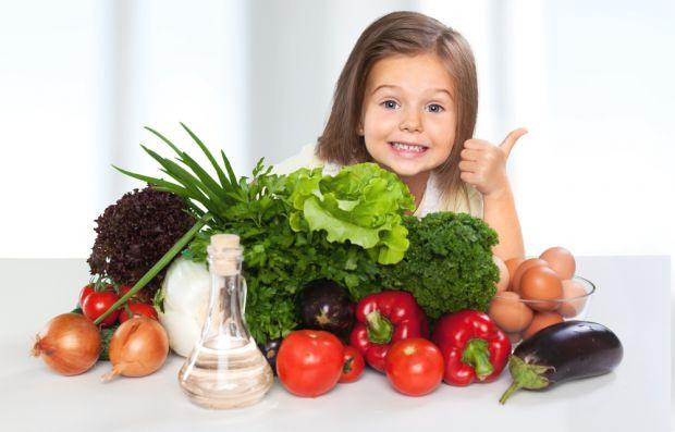 Овочі і фрукти роблять дітей щасливими