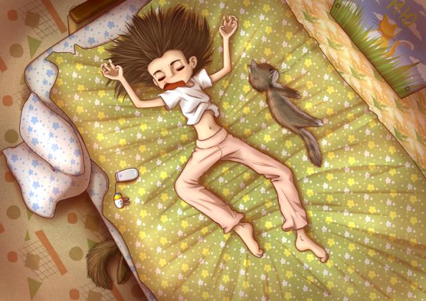 Перед переходом в режим сну спробуйте здійснити одну або відразу декілька розслаблюючих процедур, щоб забезпечити собі безтурботну ніч.
