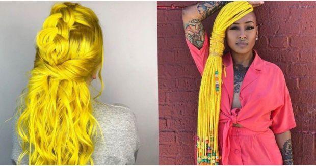 В Instagram всі вже почали фарбувати своє волосся в жовтий колір, піддавшись новому яскравому тренду під назвою