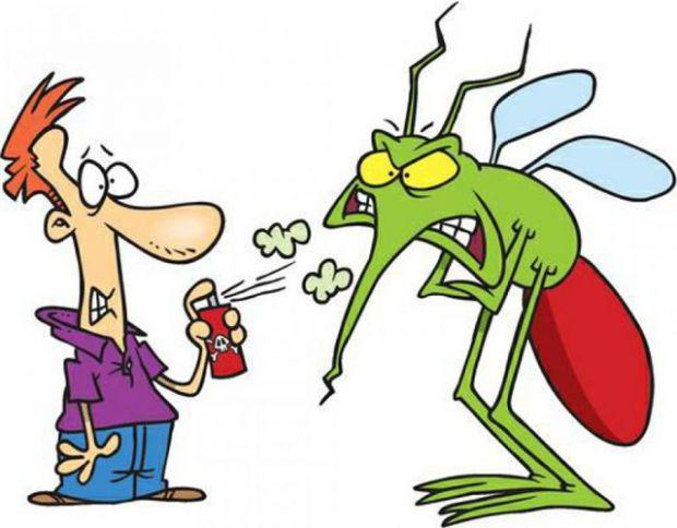 Треба знати, що активнiсть комарів зростає перед грозою, коли пiдвищується вологiсть повiтря, а також у сутінках. А от удень у сухому повiтрi вони ста