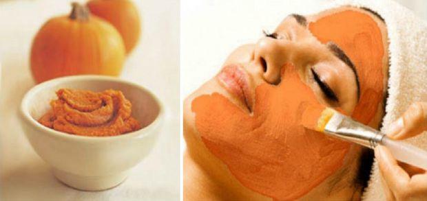 Гарбуз вважається прекрасним засобом для догляду за шкірою. Він іноді використовується у багатьох салонах для пілінгу обличчя і ви можете скористатися