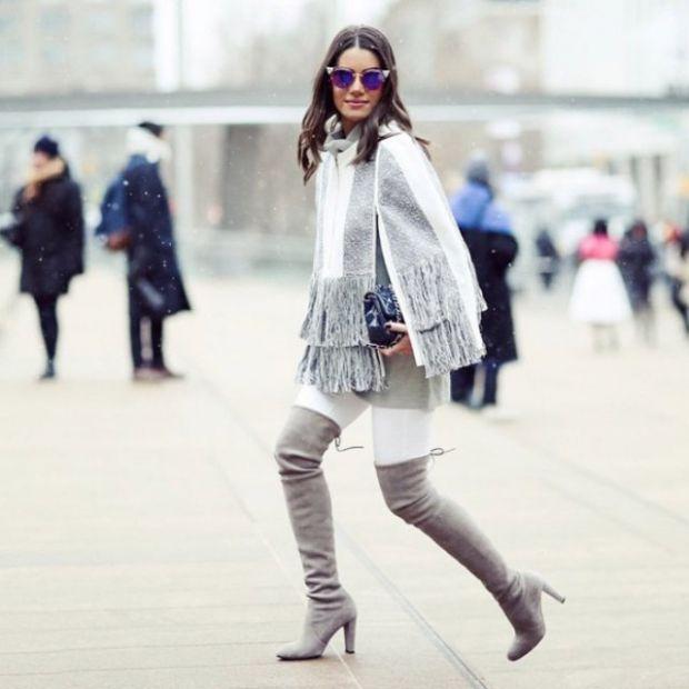 Білі джинси - відмінна альтернатива набридливим, звичайним джинсам. Взимку їх теж можна носити. Якщо їх правильно скомбінувати з іншими речами, то ви