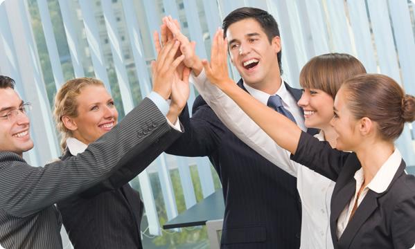 У більшості бізнес залежить від колективного духу.