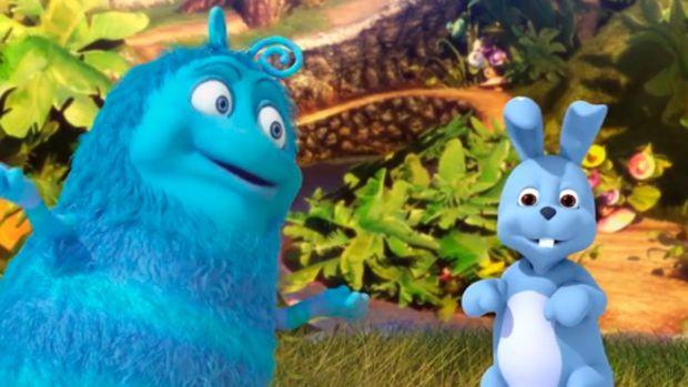 На цей раз Приг і Скок побачили кролика.