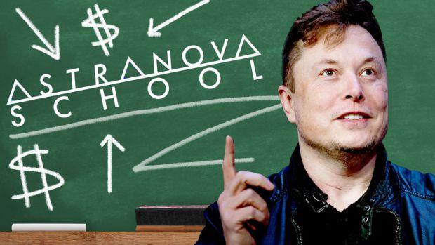Ілон Маск заснував школу майбутнього. У незвичній онлайн-школі Astra Nova School діти обирають найкращих астронавтів для першої місії на Марс, аналізу