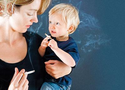 Пасивне куріння робити дітей агресивнимиДіти, які піддаються пасивному курінню, більш схильні до агресії.