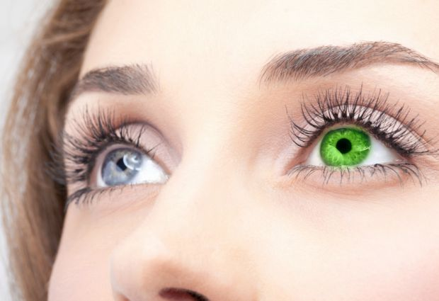 Колір очей розкаже про людину.