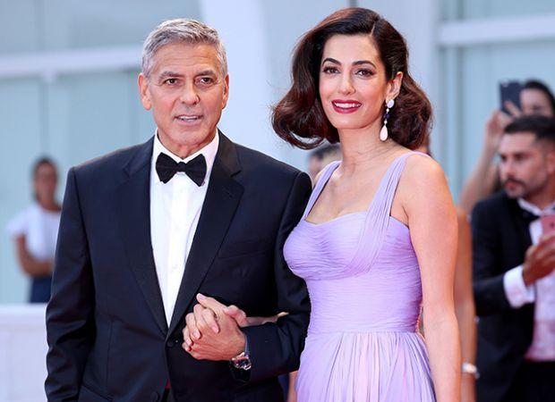 Амаль Клуні вперше показала одного малюка (Фото)