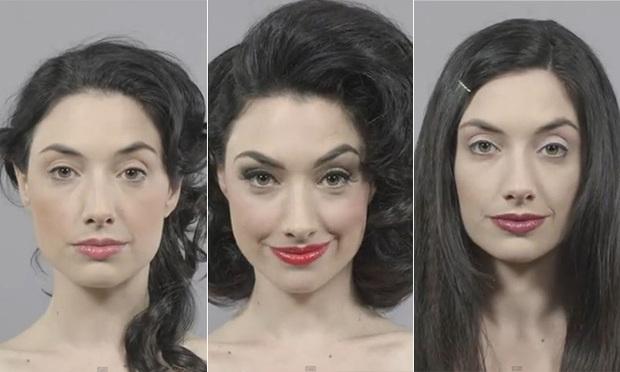 Жінка тоді і теперВідео демонструє, як виглядав макіяж та зачіски ще з 1910 року і аж 100 років по тому. Що думаєте ви з цього приводу? Все нове - це