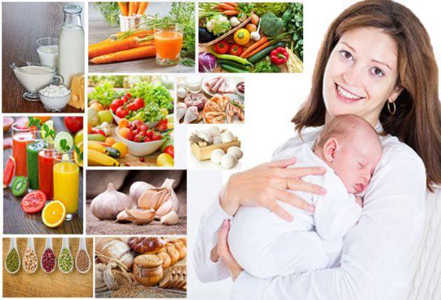 Жінка, яка нещодавно народила, не може їсти все, що їй хочеться, адже наслідки можуть відображатися на малюку: гази, кольки, алергія тощо.