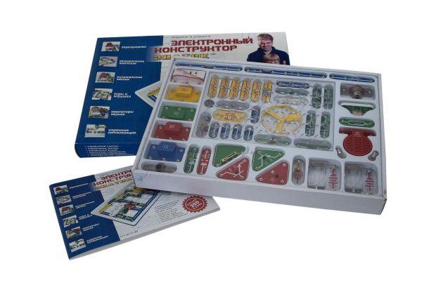 Хотите, чтобы ваш ребенок вырос умным и наполненной различных идей, чтобы создавал прекрасные вещи - тогда купите ему электронный конструктор.