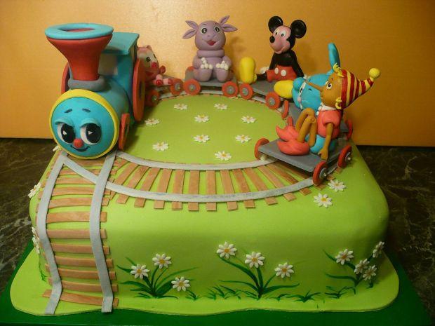 Детские тортики-фото